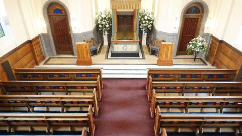 Chapel & crematorium interior - Chelsea Funeral Directors